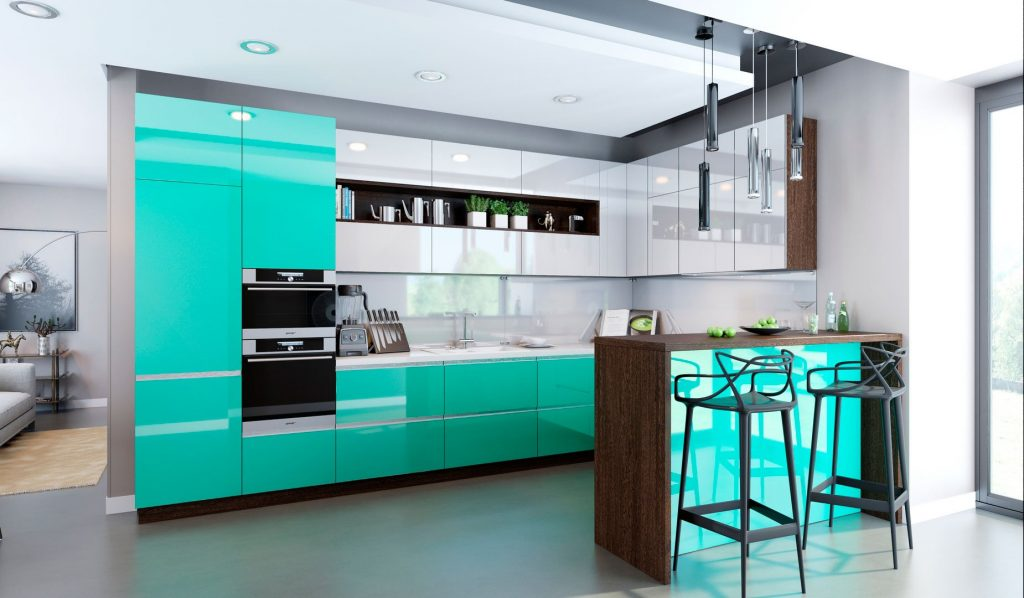 Кухня «ЛАЗУРЬ»